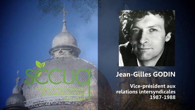 Hommage à Jean-Gilles Godin