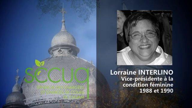 Hommage à Lorraine Interlino