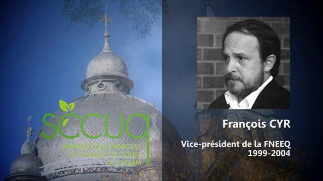 Hommage à François Cyr